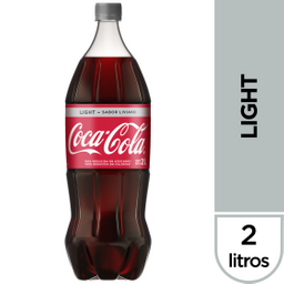 Bebida Gaseosa Coca Cola Light 2 L