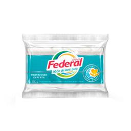 Jabón De Lavar Gran Federal Máxima Blancura 150 Gr
