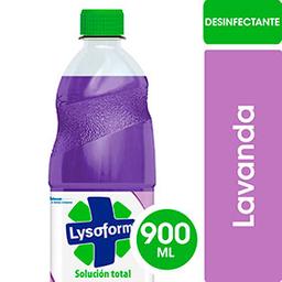 Limpiador Líquido Desinfectante Lysoform Lavanda 900 Ml