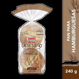 Pan Para Hamburguesas Bimbo Artesano 240 Gr