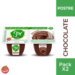 Postre Ser Chocolate 2X100 Gr