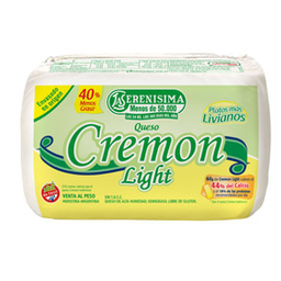 Queso Doble Crema Cremón Light 1 Kg