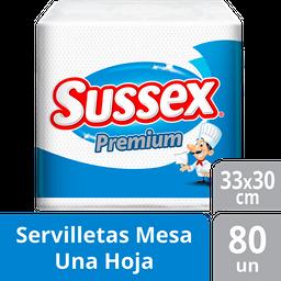Servilleta Sussex Premium - 80 U