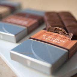 Tableta de Chocolate Rellena de Pasta de Almendras