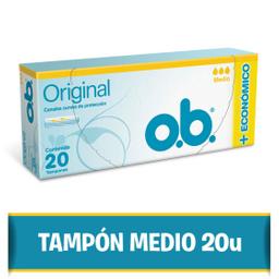 Tampones O.B. Mediano 20 U