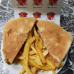 Súper Hamburguesa Cheddar