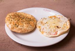 Sándwich Grillito de Fugazzeta con Jamón