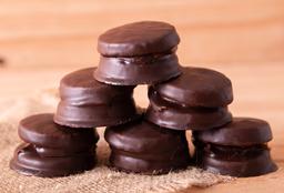 Alfajorcito de Chocolate Negro