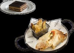 Street Food - Chicken Roll + Chocotorta