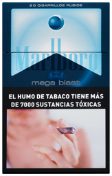 Cigarrilos Marlboro Mega Blast Box 20u