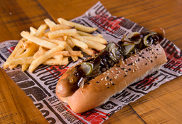 Hot Dog Black Beer