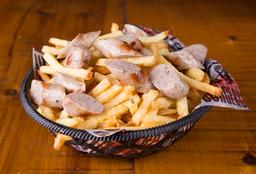 Fries con Cheddar, Panceta & Verdeo