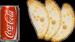 3 Empanadas + Gaseosa