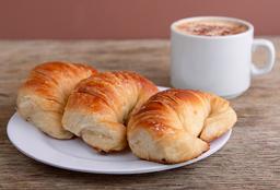 3 Medialunas + Café