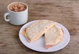 Tostado de Pan Árabe + Café