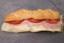 Sándwich de Jamón & Queso Completo