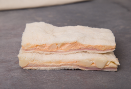 Sándwich Triple de Jamón & Palmito