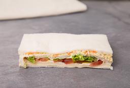 Sándwich Triple Vegetariano
