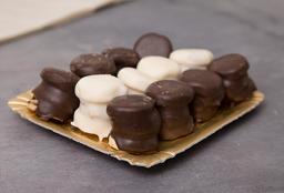 Mini Alfajores de Chocolate