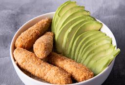Chirashi Salad Langostinos Rebozados & Palta
