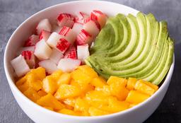 Chirashi Salad Kanikama, Mango & Palta