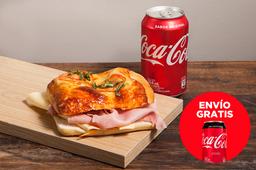 Envío Gratis: Focaccia + Coca-Cola sin Azúcar