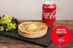 Envío Gratis: Tarta + Guarnición + Coca-Cola Sin Azúcar