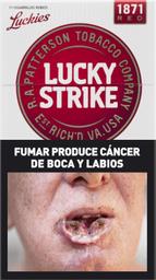 Cigarrillos Lucky Strike Red Box 11 U