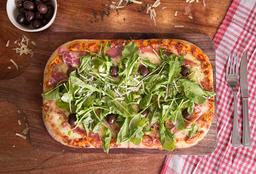 Pizza de Rúcula y Crudo