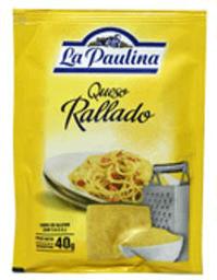 Queso Rallado La Paulina 40 gr