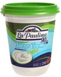 Queso Crema La Paulina Light 290 gr
