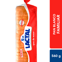 Pan De Mesa Lactal 560 Gr