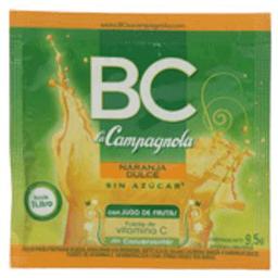 Jugo En Polvo Naranja Dulce Bc 9.5 Gr