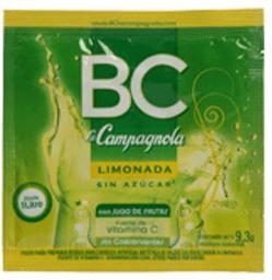 Jugo En Polvo Limonada Bc 9.3 Gr