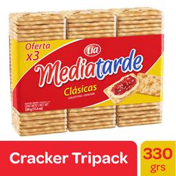 Galletitas Lia Mediatarde 330 Gr