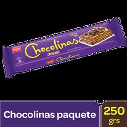 Galletitas Chocolinas paquete X 250 gr