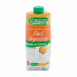 Leche Descremada Fácil Digestión Reducida en Lactosa 750 mL