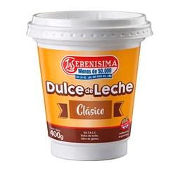 Dulce De Leche La Serenisima Clasico 400g