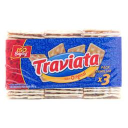 Galletitas Taviata Original x3 303g