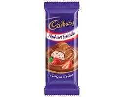 Chocolate Cadbury Yoghurt Frutilla 80Grs