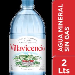 Agua Mineral Villavicencio Sin Gas 2 L