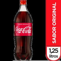 Bebida Gaseosa Coca Cola Sabor Original  1.25 L