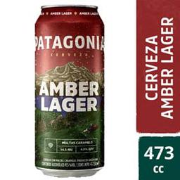 Cerveza Patagonia Amber Lager 473cm