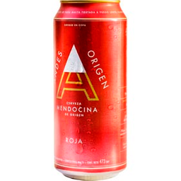Cerveza Roja Andes Origen 473 Ml lata