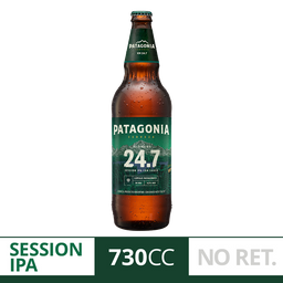 Cerveza Patagonia 24.7 730Ml