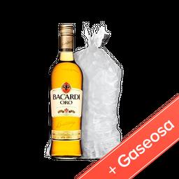 Bacardi Oro 1L + Coca-Cola 2.25L + Hielo 2.5Kg