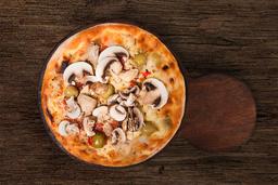 Pizza de Muzzarella & Champiñones Frescos