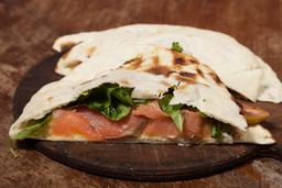 Sándwich de Salmón, Brie & Rúcula