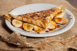 Panqueque de DDL & Banana