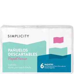 Pañuelos Simplicity 60 U